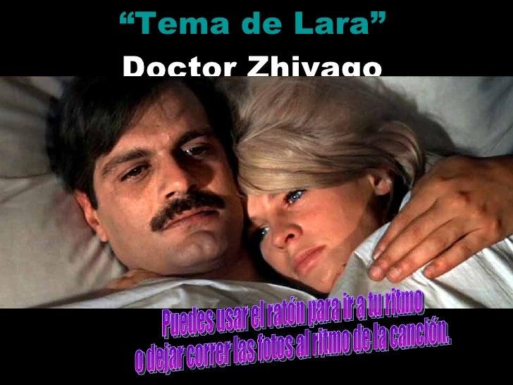 """"""" Tema de Lara"""" Doctor Zhivago Puedes usar el ratón para ir a tu ritmo o dejar correr las fotos al ritmo de la canción."""
