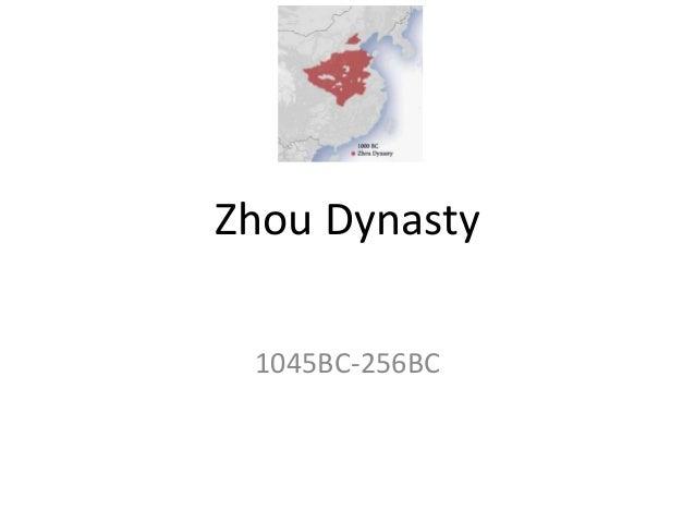 Zhou Dynasty 1045BC-256BC