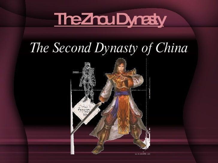 The Zhou Dynasty <ul><li>The Second Dynasty of China </li></ul>
