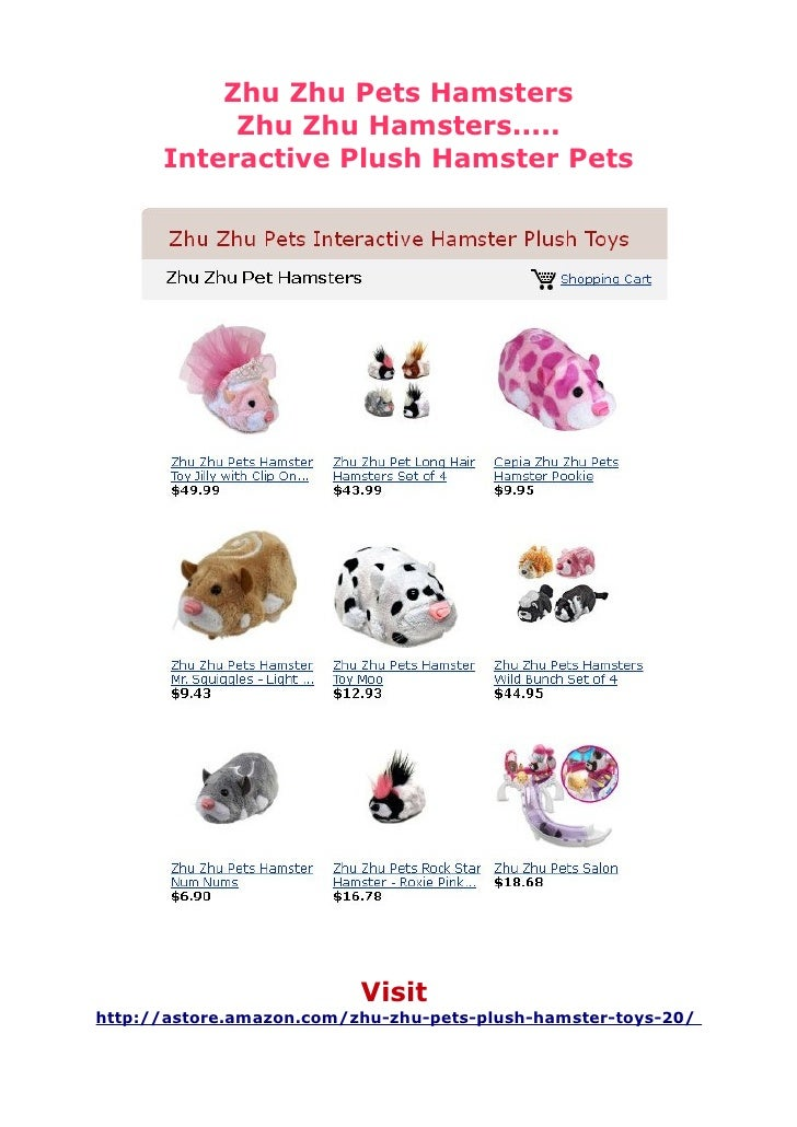 Zhu Zhu Hamster Pets   Zhu Zhu Hamster Accessories