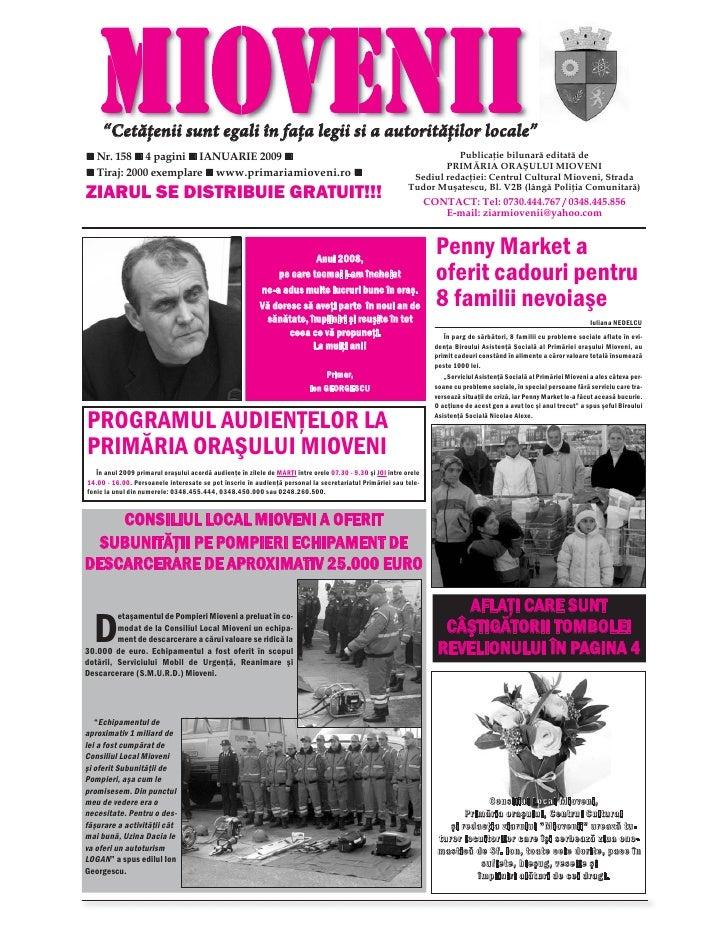 Ziarul Miovenii, Nr. 159