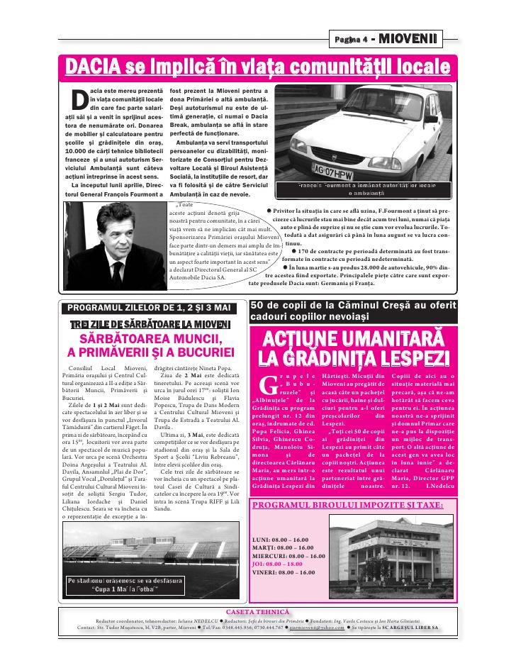 Ziarul Miovenii, Nr. 163