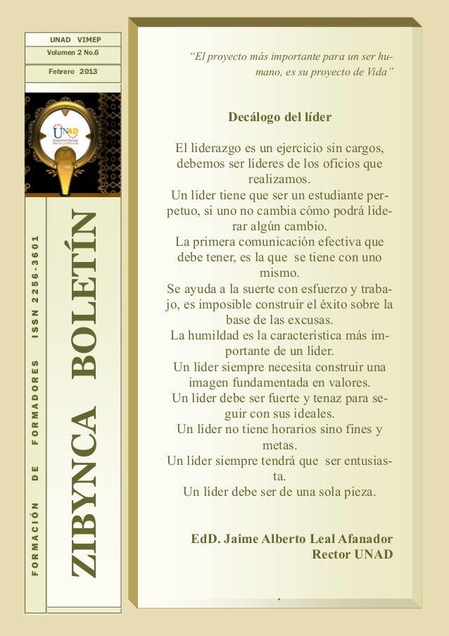 Zibynca Boletín vol.2 no.6