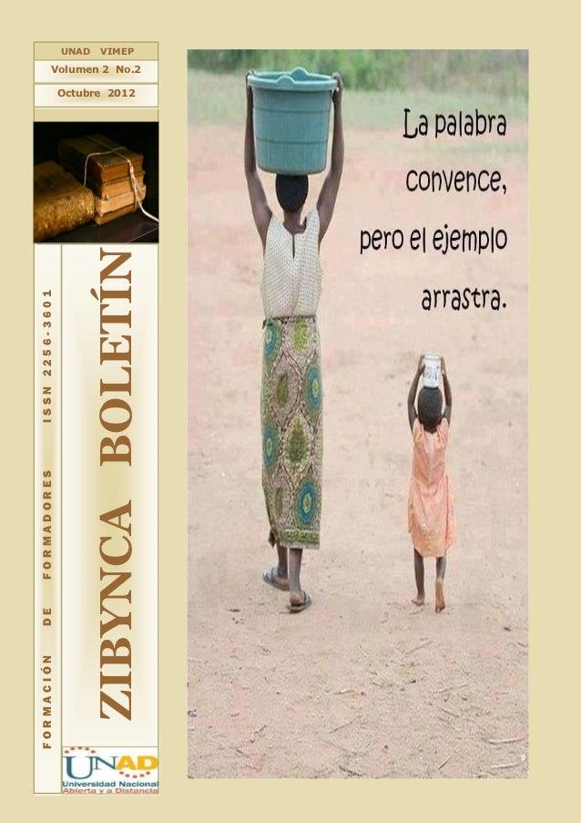 Zibynca Boletín Vol 2. No. 2