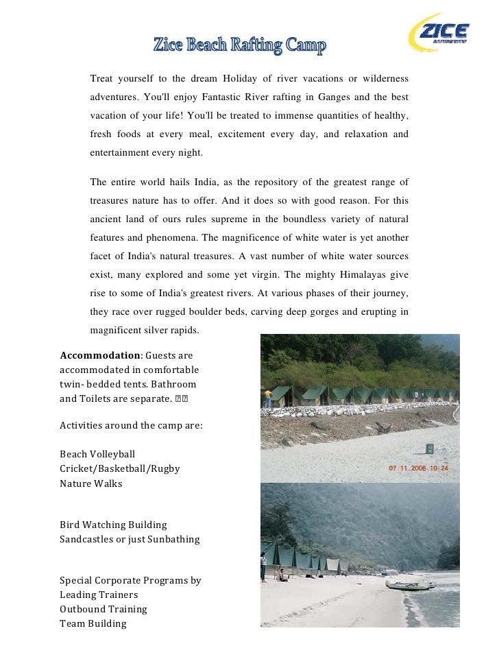 Zice  Rafting  Camp