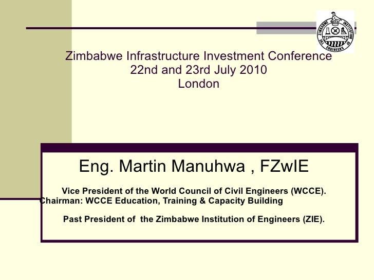 Status Infrastructure in Zimbabwe