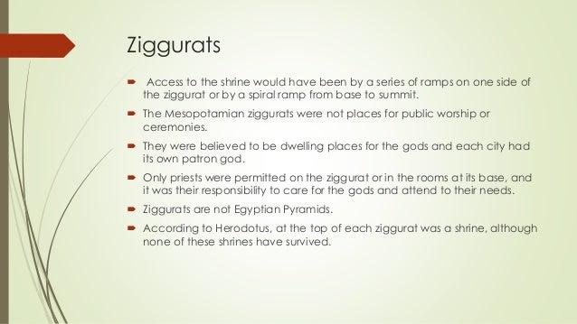 Mesopotamian Ziggurat