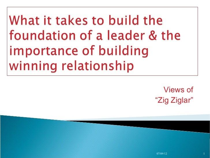 "Views of""Zig Ziglar""07/09/12       1"