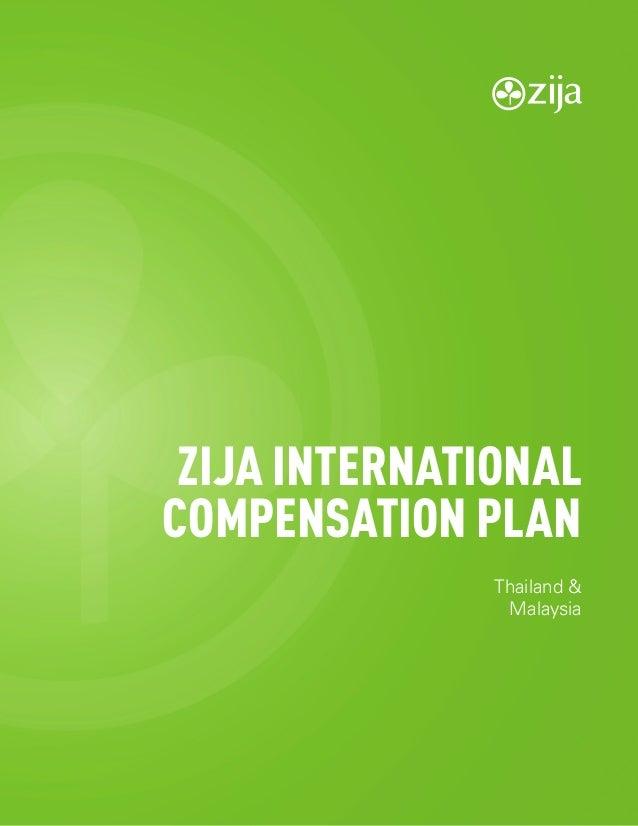 1 Compensation Plan ZIJA INTERNATIONAL COMPENSATION PLAN Thailand & Malaysia