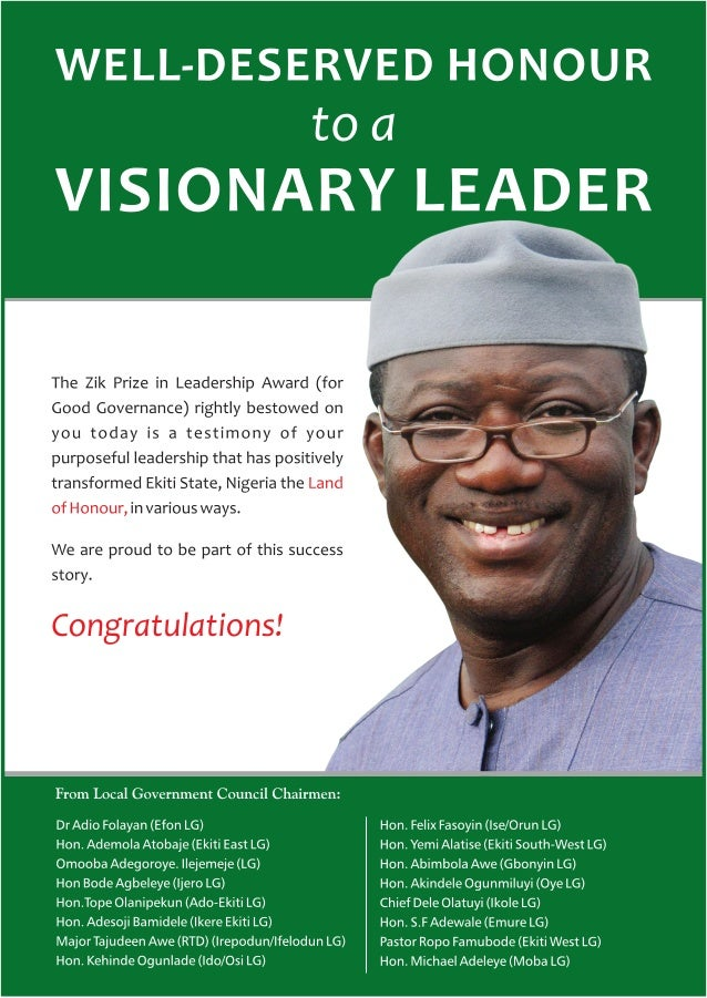 Well-Deserved Honour to a Visionary Leader