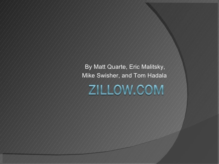 Zillow.com Presentation