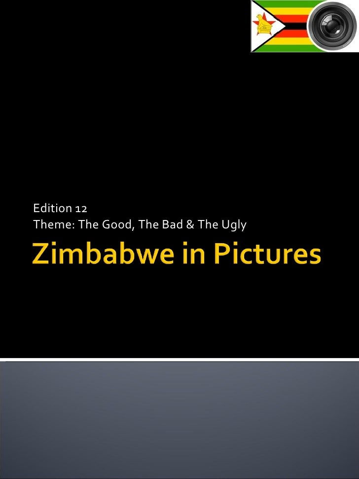Zimbabwe In Pictures - Edition 12