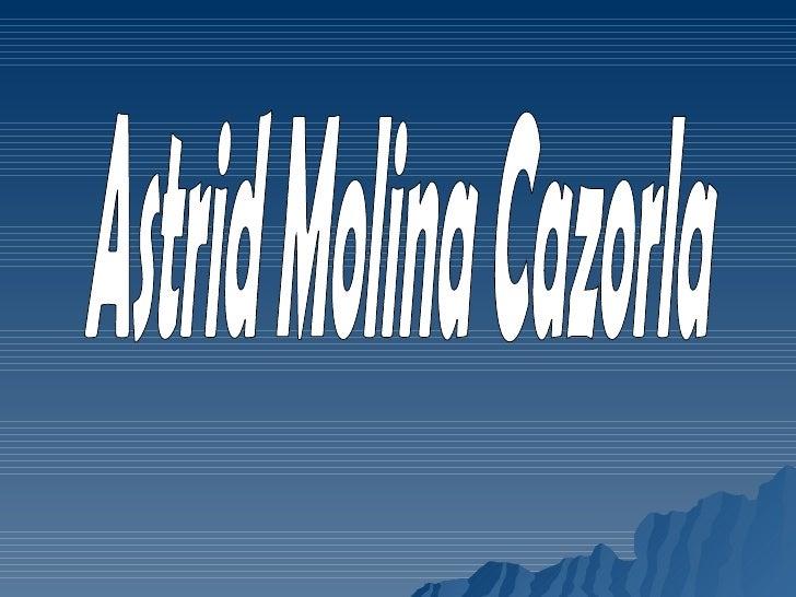 Astrid Molina Cazorla