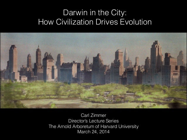 Darwin in the City: How Civilization Drives Evolution