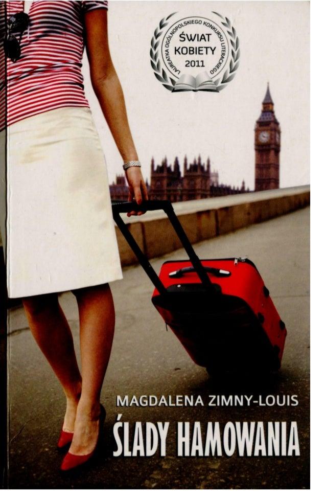 """Ślady hamowania"" Magdalena Zimny-Louis"