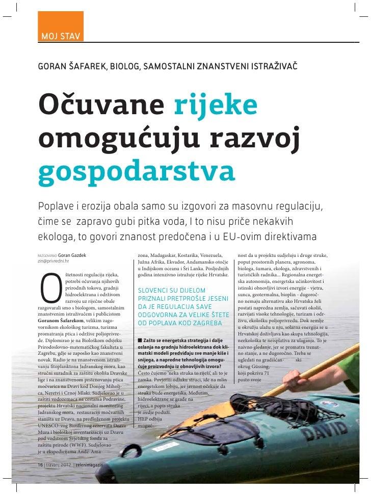 Privredni.hr Intervju s Goranom Šafarekom