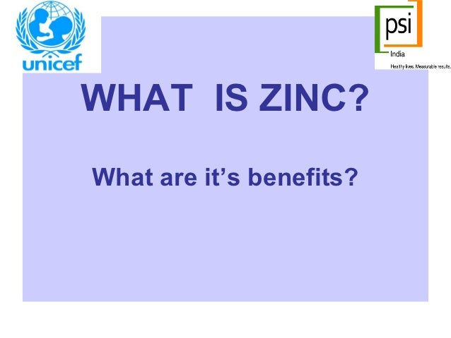 WHAT IS ZINC?What are it's benefits?