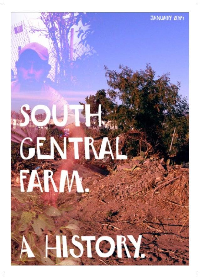 South Central Farm - A History