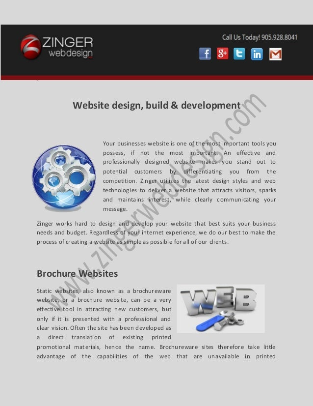 v Website design, build & development Your businesses website is one of the most important tools you possess, if not the m...