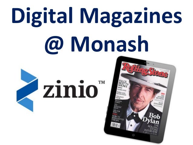 Digital Magazines @ Monash