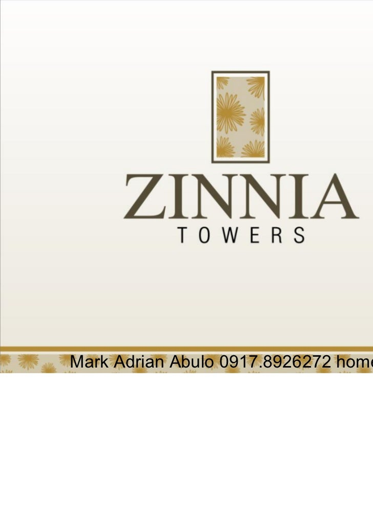 ZINNIA Towers DMCI Homes QC