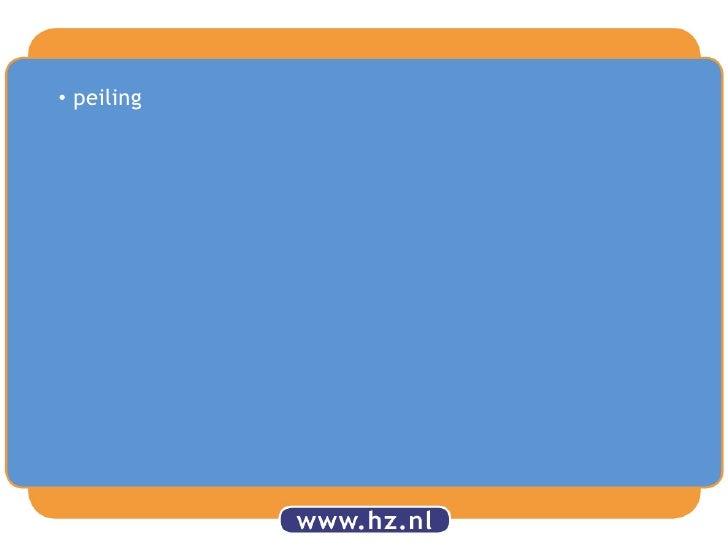 <ul><li>peiling</li></li></ul><li>Inzetdigitalemiddelen in de rekenles<br />Emma de Koeijer, leerkrachtgroep 3 en oud-stud...