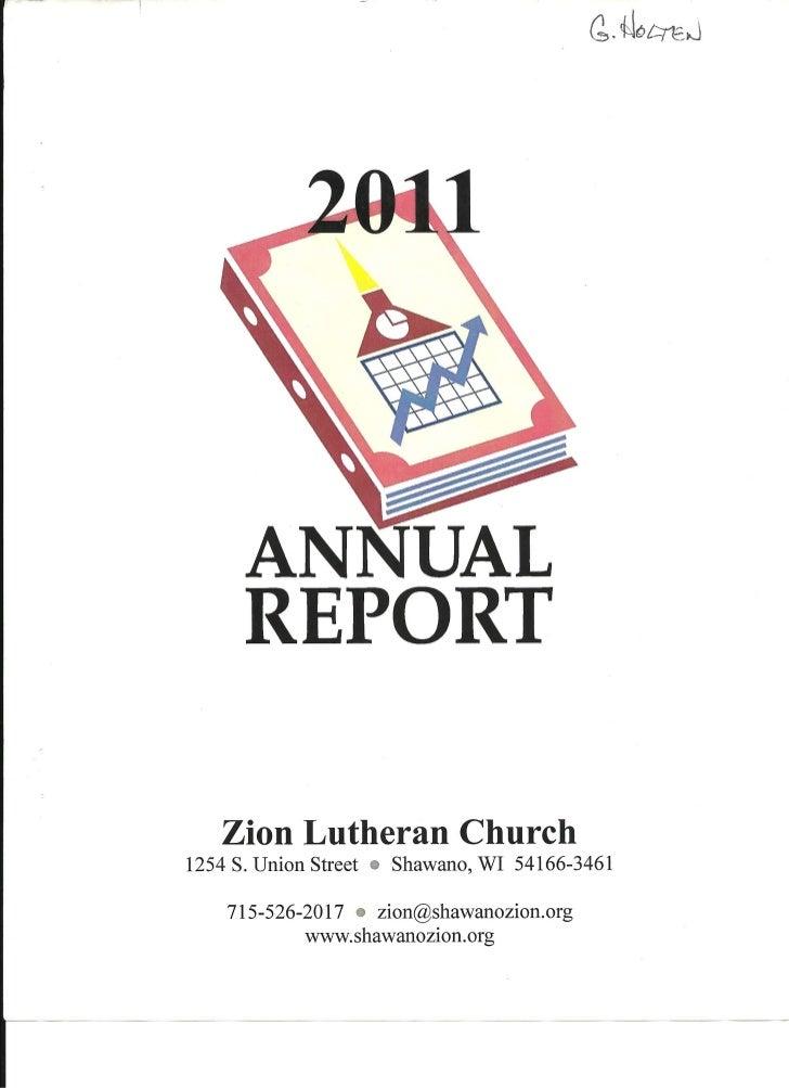 Zion annual report 2011 sample0001