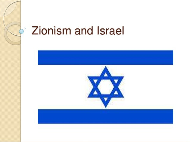 Zionism and israel