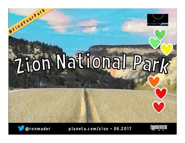 Zion National Park  p l a n e t a . w i k i s p a c e s . c o m / z i o n • 1 1 . 2 0 1 4  @ r o n m a d e r