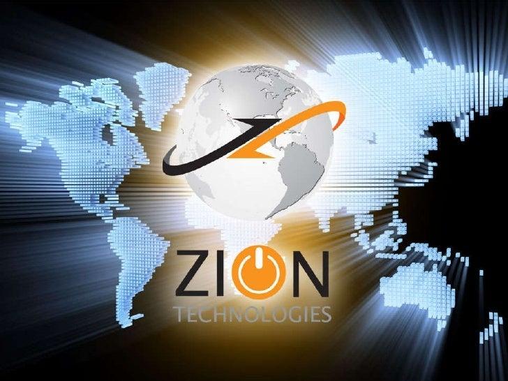 Zion Technologies - Apresentação