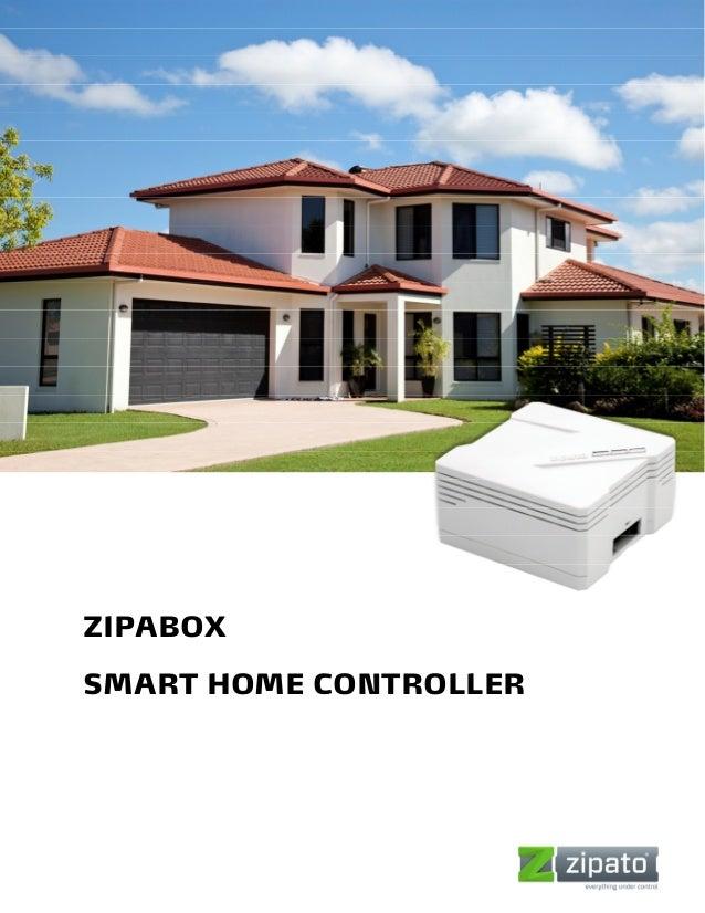 ZIPABOXSMART HOME CONTROLLER