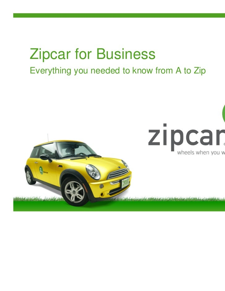 Zipcar101 Chicago