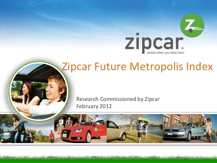 Zipcar 2012 Future Metropolis Award and Index