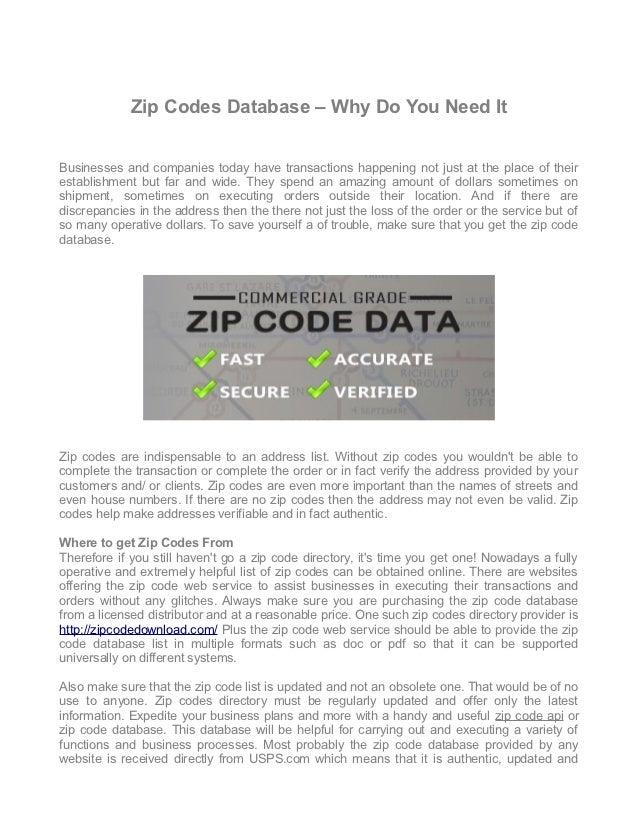 Zip code directory   www.zipcodedownload.com nov 2012