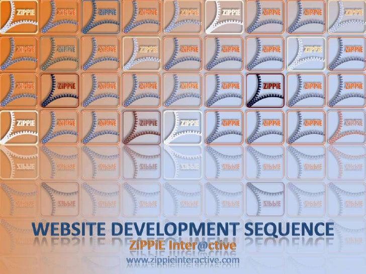 Website Development Sequence
