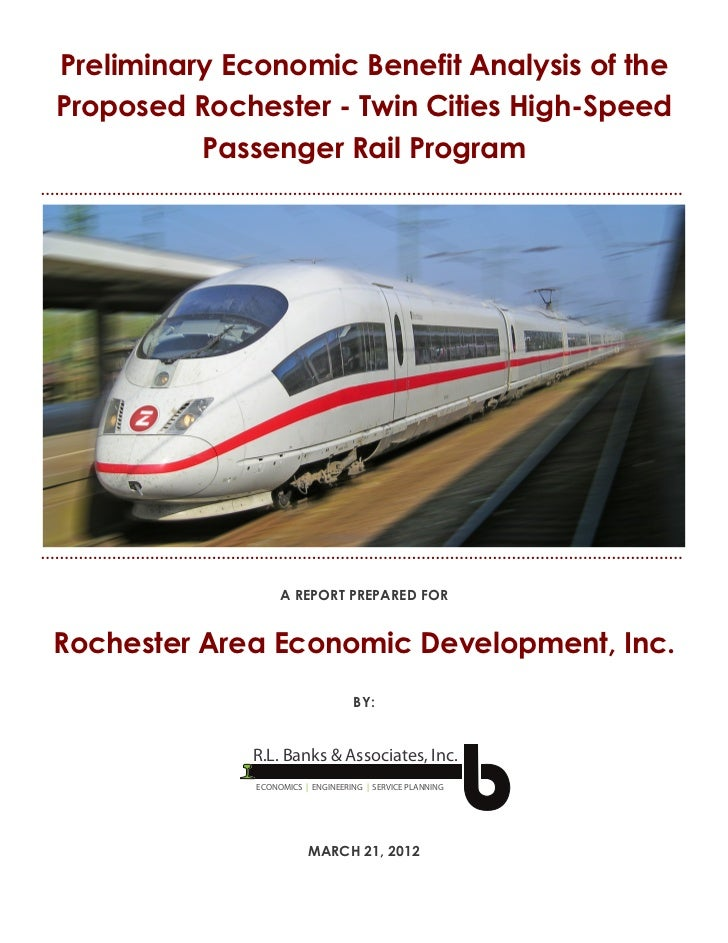Zip Rail benefit analysis