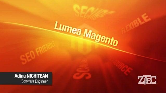 Cuprins • Cine suntem? • Experiența noastră pe platforma Magento • De ce Magento? • Magento How to