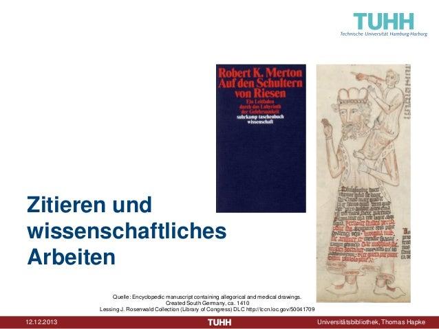 Zitieren und wissenschaftliches Arbeiten Quelle: Encyclopedic manuscript containing allegorical and medical drawings. Crea...