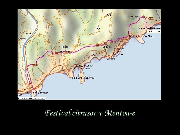 Festival citrusov v  Menton -e