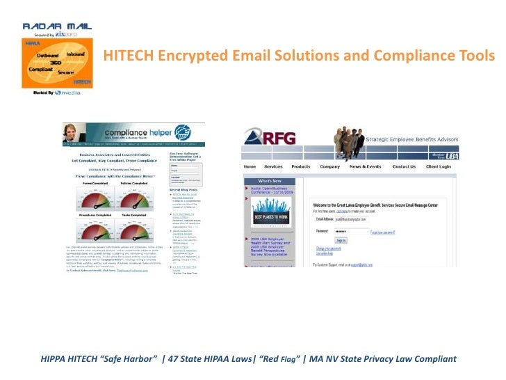 HIPPA HITECH Compliance Solutions <br />For Benefits Consultants, Insurance Brokers and <br />Any 0ther Business Associate...