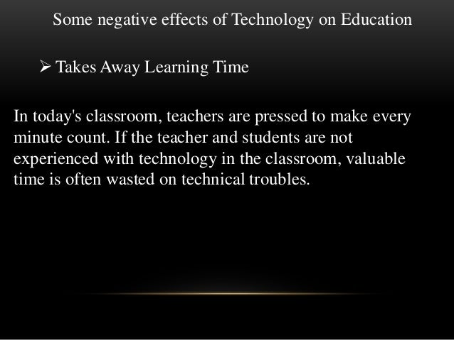 What's a creative essay title for an essay about the negative effects of technology?
