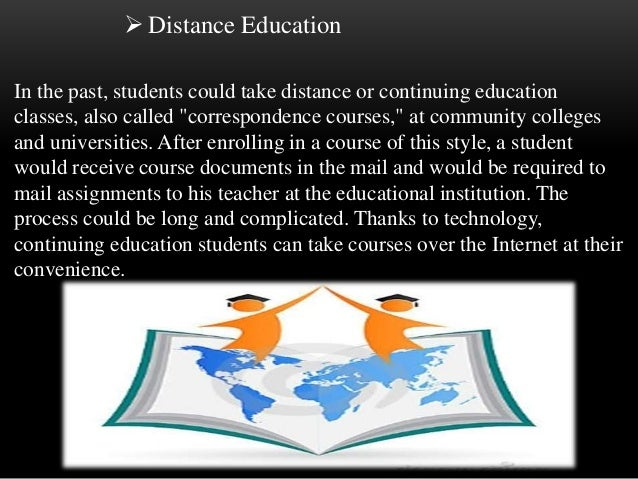 distance learning papers research