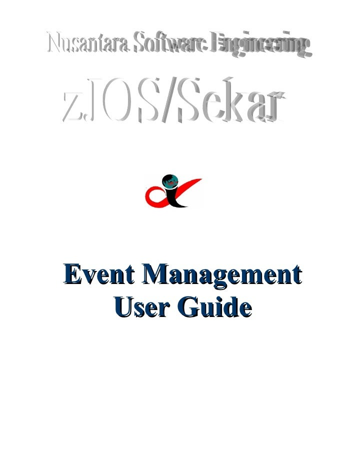 Event Management    User Guide