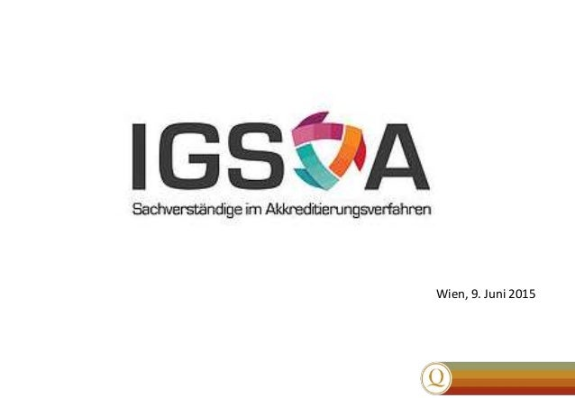 METRAS Impulstag Validierung von Prüfverfahren Wien, 9. Juni 2015