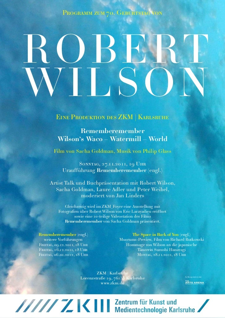 ZKM_Robert Wilson_Programm.pdf