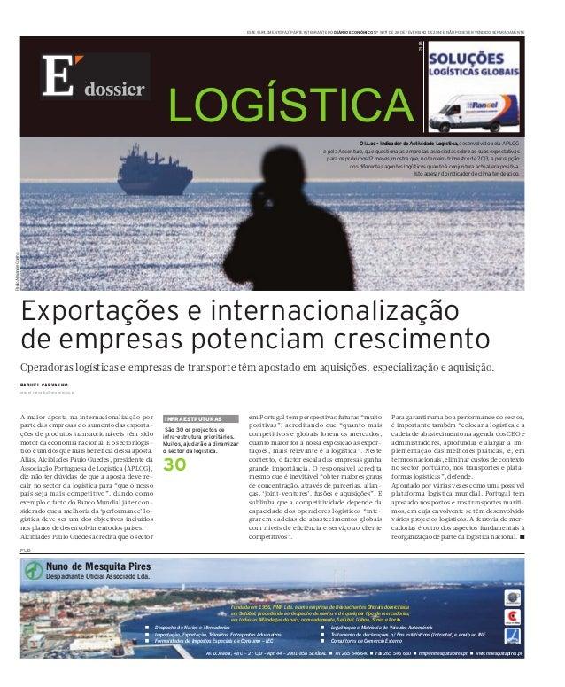 A maior aposta na internacionalização por parte das empresas e o aumento das exporta- ções de produtos transaccionáveis tê...