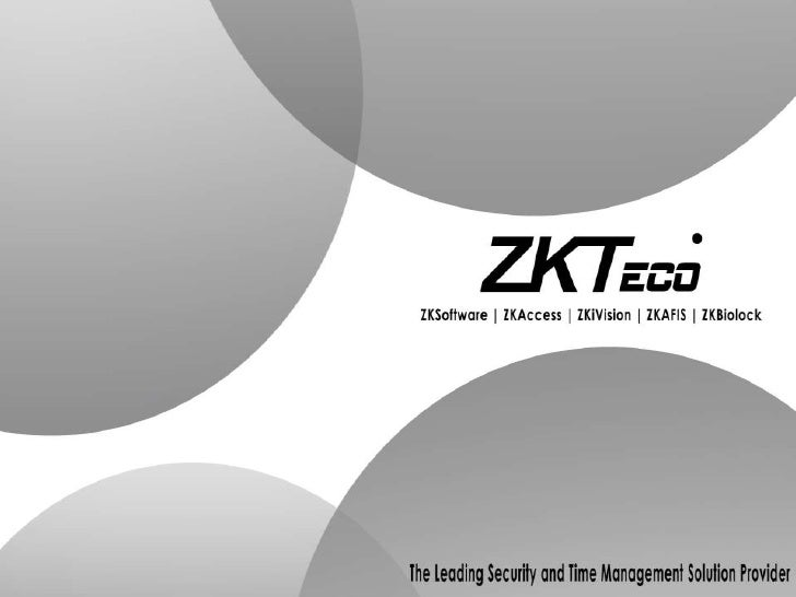 ZkTeco South Africa Catelogue
