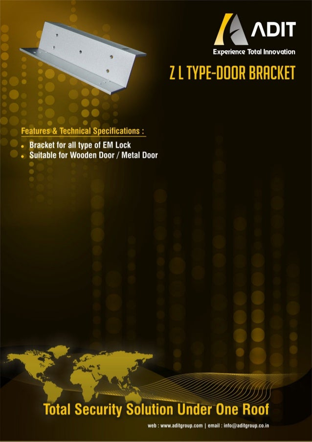 Zl type-door-bracket