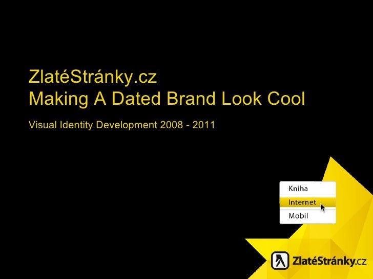 Zlate stranky.cz visual identity development