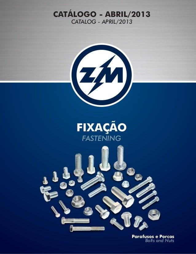 Catálogo ZM 2013
